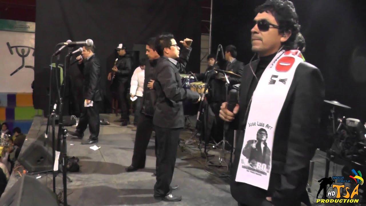 El Lobo Y La Sociedad Privada 2014 Loco Por Ti San Mateo De Huanchor 2014 Youtube