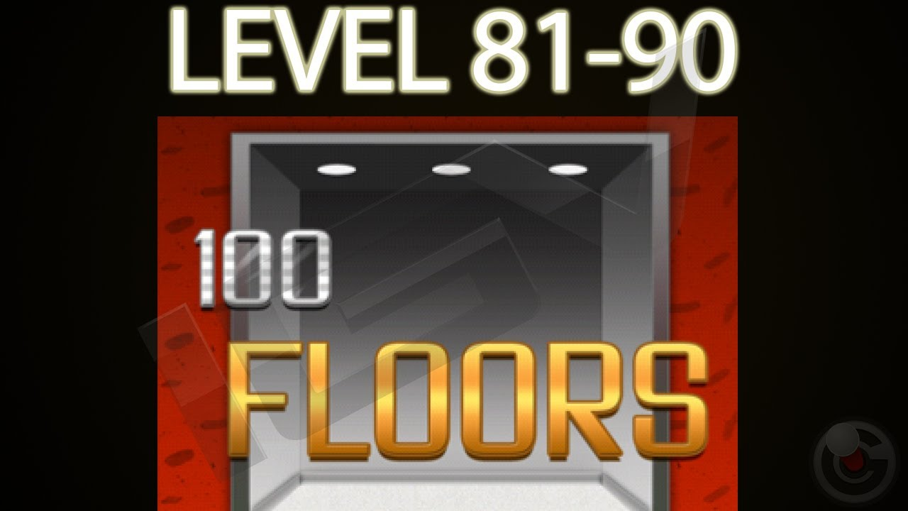 100 Floors Walkthrough Levels 81 90 Iphone Game Cheat