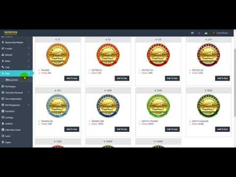 SwissCoin, egy új csomag vásárlása a Trading Account ról!