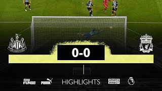 Newcastle United 0 Liverpool 0 | <b>Premier League</b> Highlights
