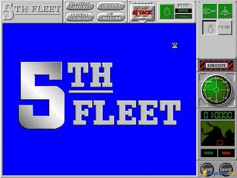 5th Fleet gameplay (PC Game, 1994)