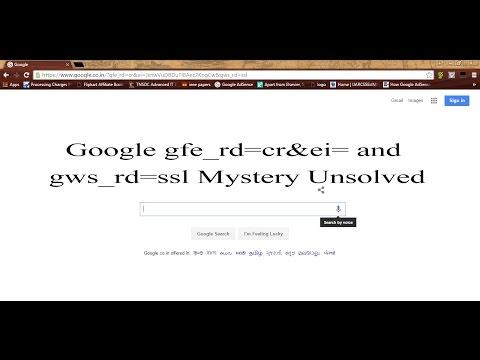 RamDynamo: Google gfe_rd=cr&ei= URL Mystery Revealed
