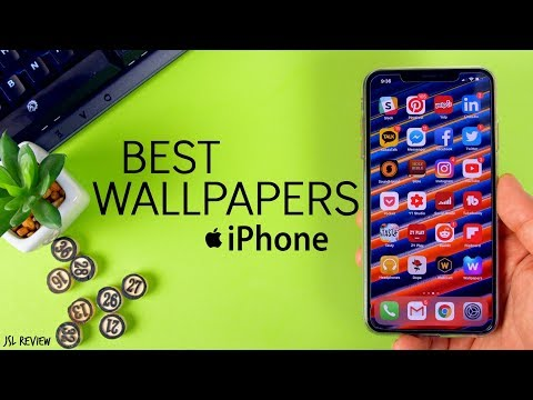 THE BEST WALLPAPER APPS FOR IPHONE 2019!!