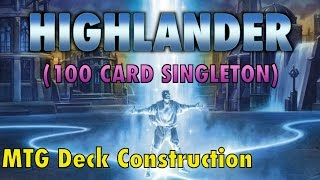 MTG - Highlander: The Best Format You Aren
