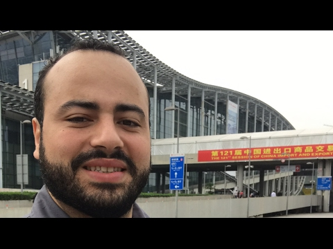 LIVE CHINA - CANTON FAIR 3a FASE - Tour pela Feira de Cantão