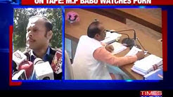 NEWS KANNADA  Caught on cam: Bhopal Muncipal Corp officer watches porn during meeting