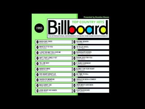 Billboard Top Country Hits - 1993