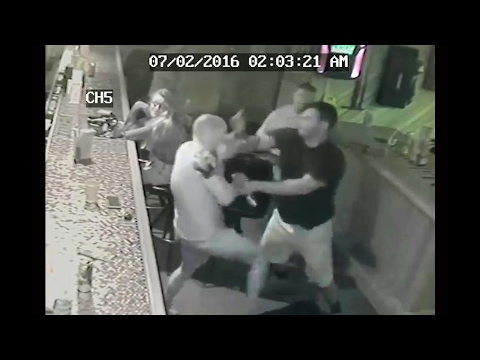 The beating inside an Oswego County bar left a former bartender bloodied, bruise…