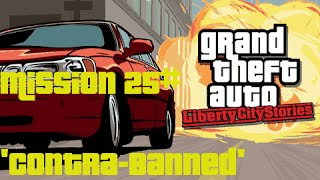 GTA Liberty City Stories - Mission 25# - Contra Banned