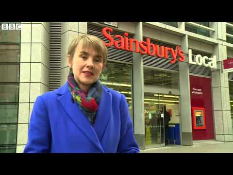 BBC News   Sainsbury's warns outlook 'challenging' as sales fall