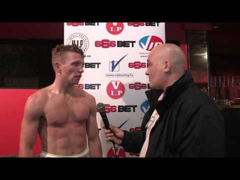 Tom Farrell - Post Fight Interview December 2014