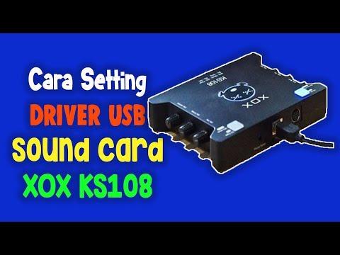 CARA SETTING DRIVER USB SOUND CARD XOX KS108