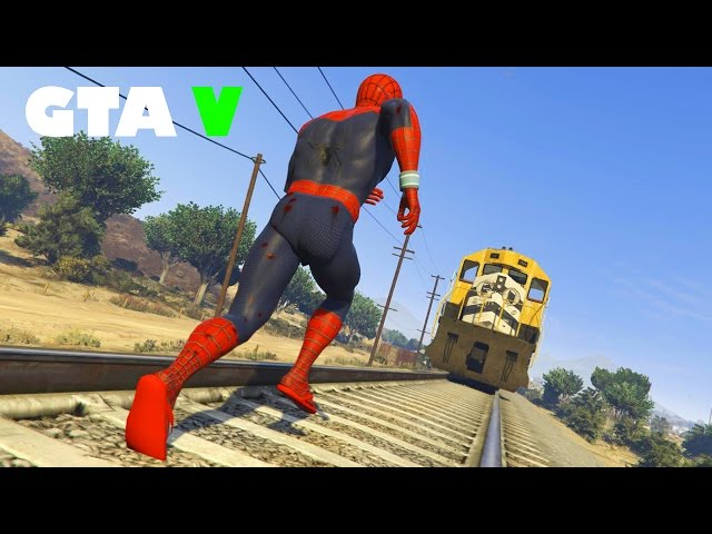 Gta 5 Mods - Fun Time With Spiderman Mod