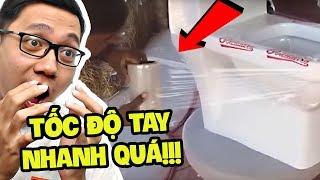 NHỮNG BÀN TAY LAO ĐỘNG NHANH VÀ HIỆU QUẢ NHẤT THẾ GIỚI!!! (Sơn Đù Vlog Reaction)