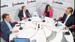 Debate en esRadio entre los candidatos del centro derecha al ayuntamiento de Madrid