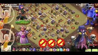 CLASH OF CLAN ANTI 3 STAR ON TH10.5=TH11 WAR BASE BOWITCH ATTACK || BY CLASH OF CLAN WAR BASE 2017