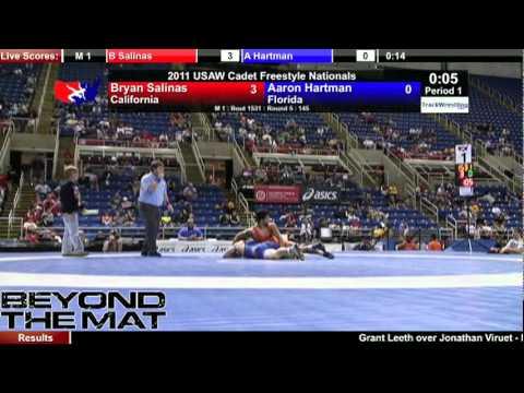 Cadet Freestyle 145 Bryan Salinas Ca