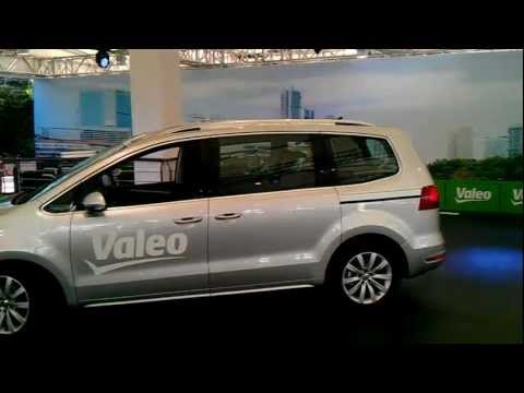 Valeo Parking Demo at IAA 2011