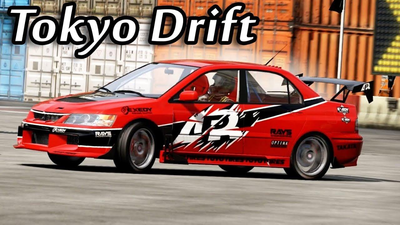 Nfs Shift 2 Mitsubishi Evo 9 From Tokyo Drift Youtube