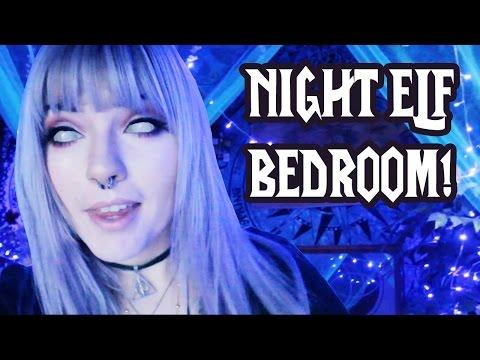 MY NIGHT ELF BEDROOM! (Room Tour)