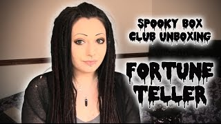Spooky Box Club Unboxing - Fortune Teller | Toxic Tears