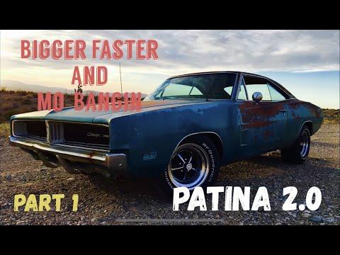 Part1: Patina is makin a comeback thats Bigger and Better and definitely More Bang Shiftin
