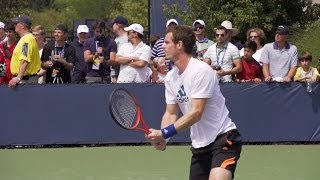 Andy Murray Ultimate Slow Motion Compilation - Forehand - Backhand - Overhead - Volley - Serve - 201