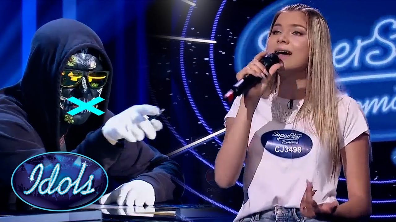 Download HER VOICE MAKES JUDGE SWEAR LIVE ON TV | Idols Global