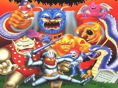 Makaimura прохождение (J) | Игра на (Dendy, Nes, Famicom, 8 bit) Capcom 1986 Стрим RUS