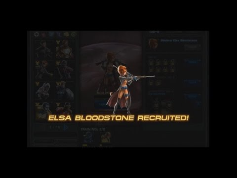Marvel Avengers Alliance: Elsa Bloodstone Recruited And The New Sims