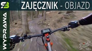 Świeradów Zdrój, Singltrek pod Smrkem - szybki objazd trasy łatwej. Zajęcznik.
