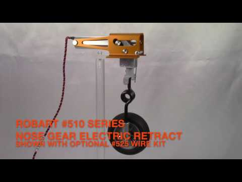 Robart #510 Series Electric Nose Retract Operational Video - YouTube