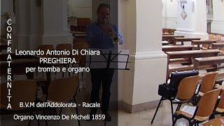 L A  Di Chiara Preghiera per tromba e organo