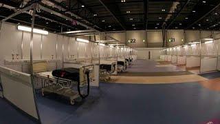 Un premier hôpital de campagne à Londres