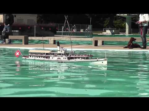 RC Boat – DS Gallia – Passenger Steam Ship