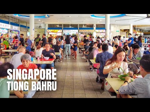 Singapore City: Chinese New Year Walk at Tiong Bahru (2021)