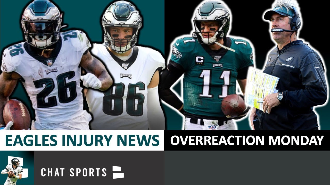 Reports indicate Eagles will face Giants without Miles Sanders, Zach ...