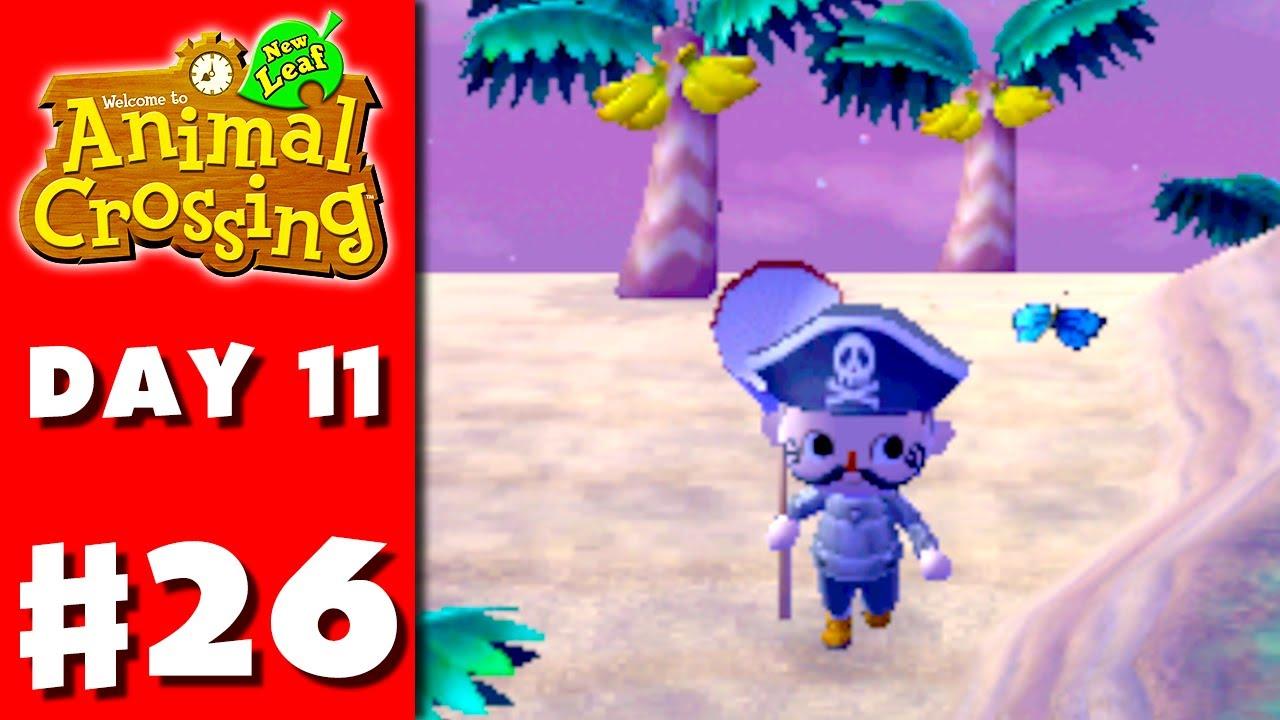 Animal Crossing New Leaf Island Bug Hunting