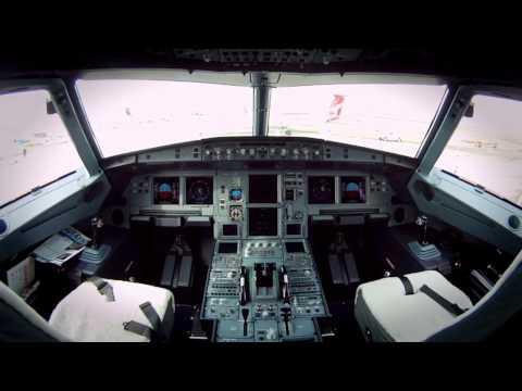 Inside the Airbus ACJ319 corporate jet