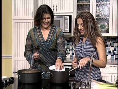 Personal Chef Florence Carter on our TV Show Healthy Food Happy You