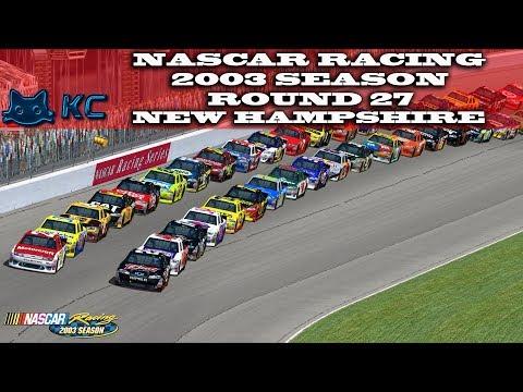Gaming :Nascar Racing 2003 Season (PC) 🚗 Round 27 New Hampshire