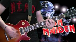 Iron Maiden The Number Of The Beast Full Guitar Cover