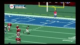 Madden NFL 2001 All Star Game NFC vs AFC