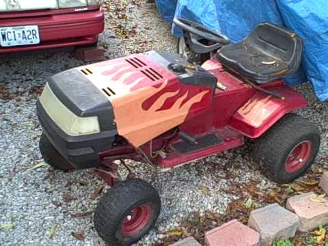 how I built a racing lawn mower