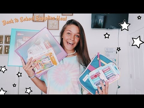 Back to School Supplies Haul 2019
