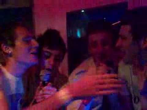 Callum, Ash, Hammel, Dillon Karaoke