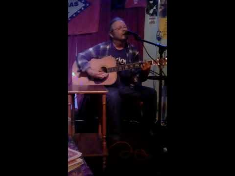 Doug Bowman doing a cover of  Cold Dog Soup at the Old Quarter