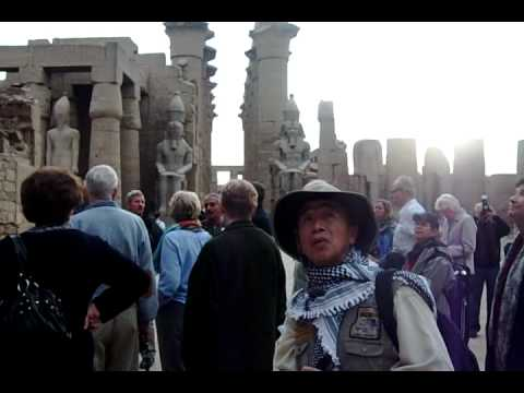 Luxor temple,Holly Land trip 1-4-09