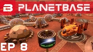 PlanetBase - World Record Breath Holding !! - Ep 8 (Space Survival Strategy Gameplay)