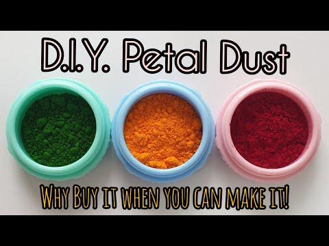 How To Make DIY Petal Dust